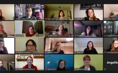 Erstes Treffen des digitalen (Post-)Doktorand*innen-Stammtischs